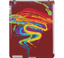 Grunge Rainbow 3 iPad Case/Skin