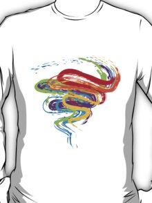Grunge Rainbow 3 T-Shirt