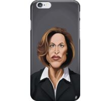 Celebrity Sunday - Gillian Anderson iPhone Case/Skin
