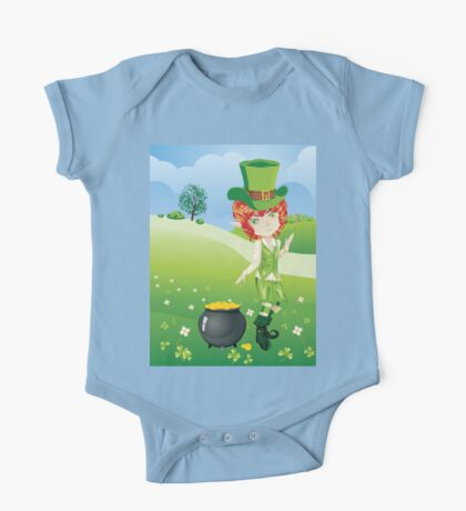 Leprechaun Boy One Piece - Short Sleeve