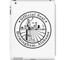 Seal of Birmingham, Alabama iPad Case/Skin