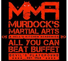 MMA - Murdock's Martial Arts (V05 - The LONG story) Photographic Print