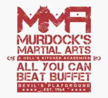 MMA - Murdock's Martial Arts (V05 - The LONG story) Kids Tee