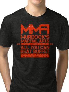 MMA - Murdock's Martial Arts (V05 - The LONG story) Tri-blend T-Shirt