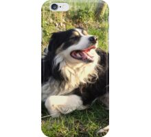 Two Dogs went into a bar...... iPhone Case/Skin