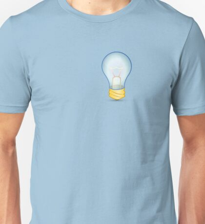 Light bulb Unisex T-Shirt