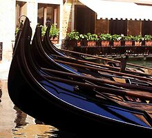 Gondolas At Rest by phil decocco