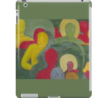 Abstract people in color iPad Case/Skin