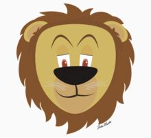 Cartoon Lion Kids Clothes