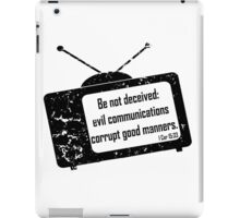 1CORINTHIANS 15:33  Bad Company  iPad Case/Skin
