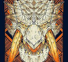 Hunting Club: Barioth by MeleeNinja