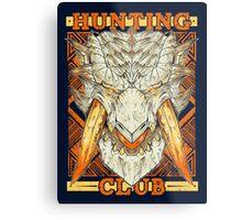 Hunting Club: Barioth Metal Print