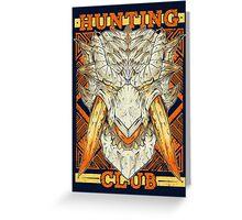 Hunting Club: Barioth Greeting Card