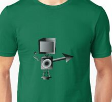 Robot TV Unisex T-Shirt