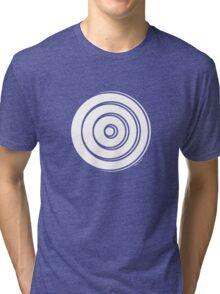 Mandala 33 Simply White Tri-blend T-Shirt
