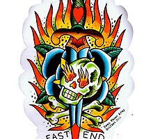 East End - Tattoo flash tee by ewanwhosearmy