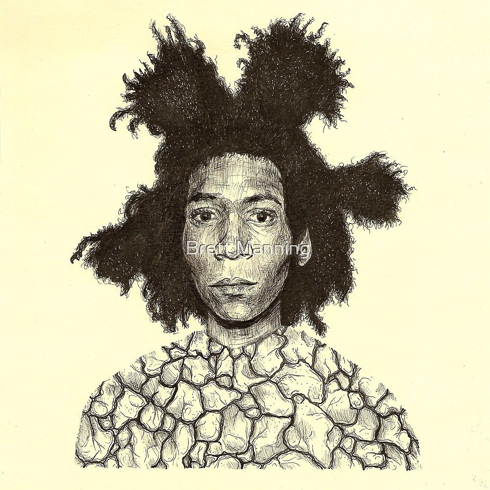 Jean Michel Basquiat  by Brett Manning