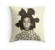 Jean Michel Basquiat  Throw Pillow