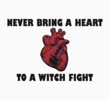 Witch Fight Heart in Black by fictionbrother