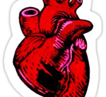 Witch Fight Heart in Black Sticker