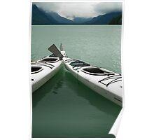 Waiting on Chilkoot Lake - Haines Alaska Poster