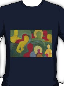 Abstract people in color T-Shirt