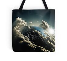 Earth vs Space Tote Bag