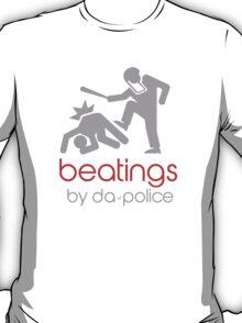 POLICE BEATINGS by Tai's Tees T-Shirt
