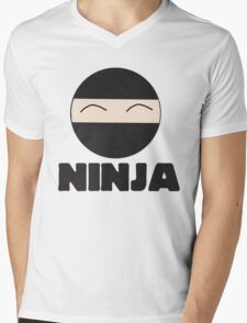 Ninja Mens V-Neck T-Shirt