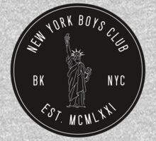 New York Boys Club One Piece - Short Sleeve