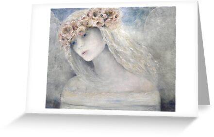 EN995 Original ReneaL Angel Painting by ReneaL