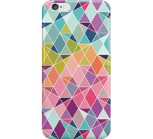 Triangular Bright - Geometric pattern iPhone Case/Skin