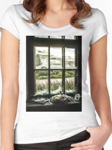 View from Decay Women's Fitted Scoop T-Shirt