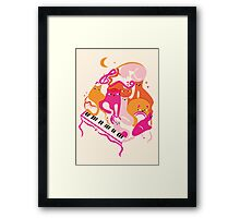 Jazz Cats Framed Print