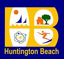 Flag of Huntington Beach  by abbeyz71