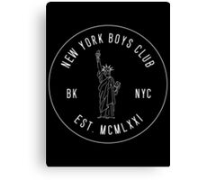 New York Boys Club Canvas Print