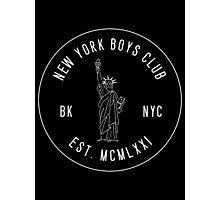 New York Boys Club Photographic Print
