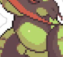 Havoc Haxorus Pixel Art Sticker