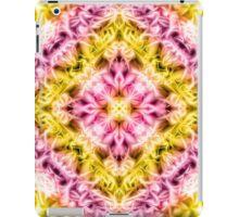 """Spirit of India: Fleur Diamond"" in purple, rose and yellow iPad Case/Skin"