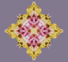 """""""Spirit of India: Fleur Diamond"""" in purple, rose and yellow Kids Clothes"""