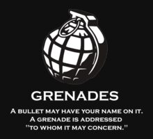 grenade by greggmorrison