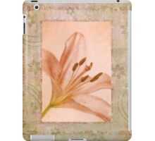 Pink Lily iPad Case/Skin