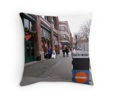 Seattle Weekly Throw Pillow