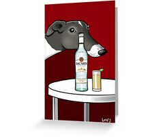 Poppy & Rum Greeting Card