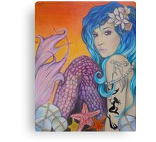 Mermaid Caribbean  Canvas Print