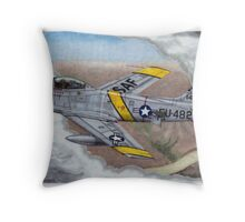 Hollywood Fighter Throw Pillow