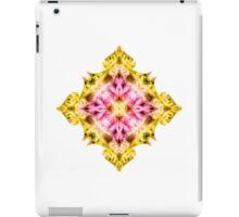 """Spirit of India: Cross Fleur Diamond"" in purple, rose and yellow iPad Case/Skin"