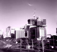 view from the railyards by OTOFURU