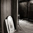 doorway, haunted house Wollombi NSW by ozzzywoman