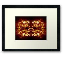 Smoke Abstract Framed Print